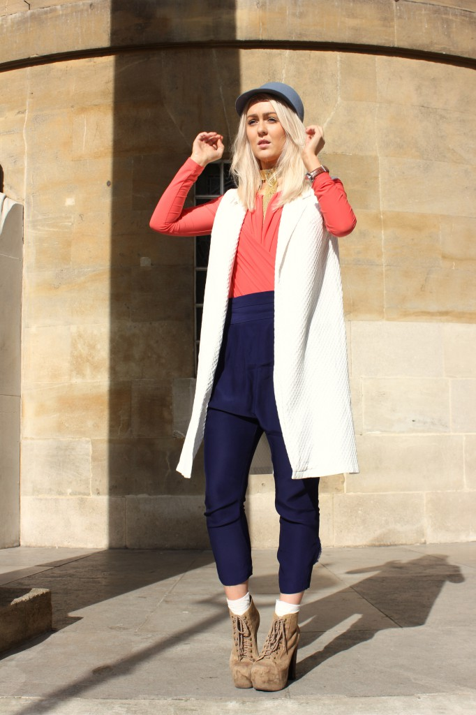 love_boyfriend_jacket_zara_harem_pants_jeffrey_campbell_lita_monki_cap_aqua_aqaq_body_london_street_Style