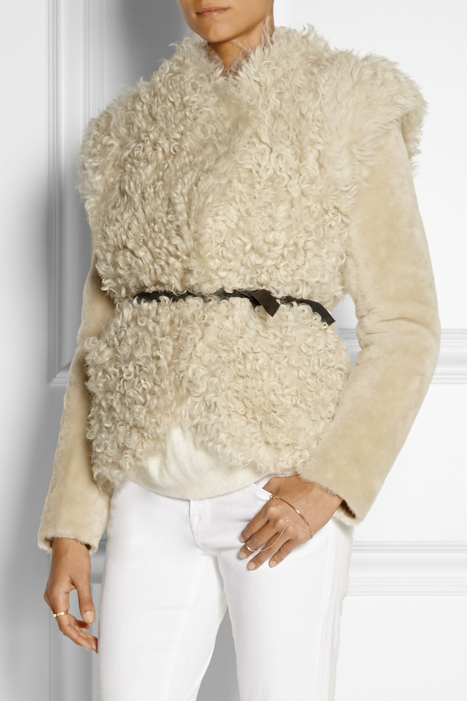 Isabel Marant Shearling Jacket