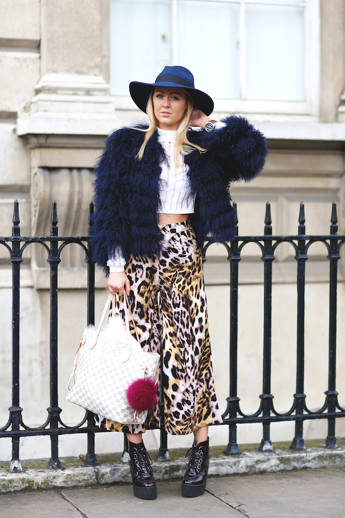 Daisy Keens at London Fashion Week copy