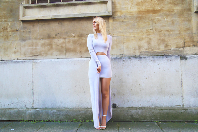 seven_violets_two-piece_co-ord_silver_drop_hem_skirt_high_neck_pie_and_fash_missguided