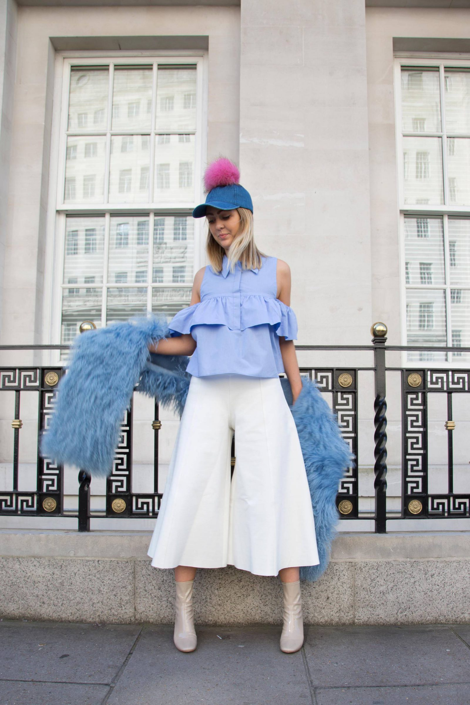 Pie and Fash in a Charlotte Simone Candy Floss Wrap