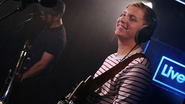 George Ezra in the Live Lounge.